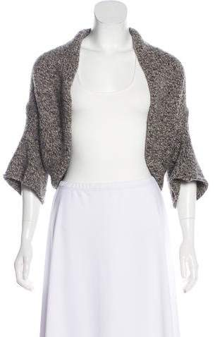 Brunello Cucinelli Cashmere Knit Shrug