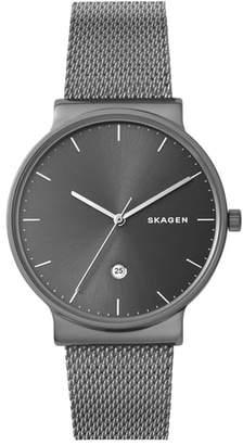 Skagen Ancher Mesh Strap Watch, 40mm