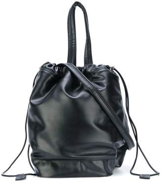 Paco Rabanne drawstring bucket tote bag