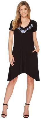 Karen Kane Embroidered Hailey Dress Women's Dress