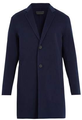 Iris von Arnim Vittorio notch-lapel wool-blend coat