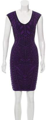 RVN Jacquard Bodycon Dress w/ Tags