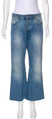 Anine Bing High-Rise Wide-Leg Jeans