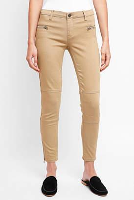 Blank NYC Twill Skinny Ankle Zip Pant