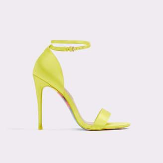 aad0deb7ffd Light Yellow High Heels - Js Heel