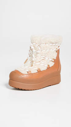 Tory Burch Courtney Shearling Boots