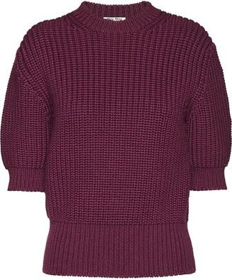 Miu Miu three-quarter sleeved jumper