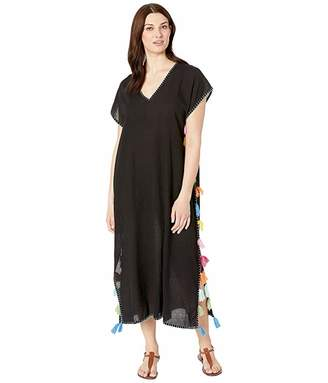 Bleu Rod Beattie Let The Sunshine In / Embroidery Long Caftan