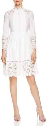 Sandro Enja Lace-Detail Dress