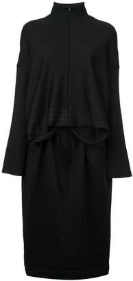 Y-3 sweatshirt midi dress