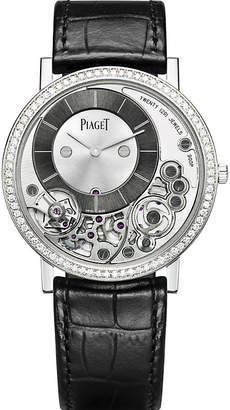Piaget Altiplano 18ct white gold and diamond watch