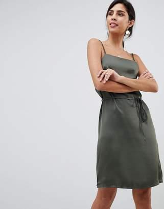 Oh My Love Satin Cami Mini Dress