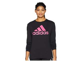 adidas Badge of Sport Long Sleeve T-Shirt