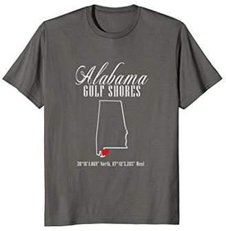 Alabama T Shirt: Gulf Shores Alabama Vacation Destination