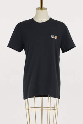 MAISON KITSUNÉ Foxes cotton T-shirt