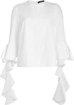 Ellery Emmeline Frill Sleeve Top