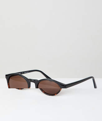 A. J. Morgan Aj Morgan AJ Morgan Round Sunglasses In Tort Fade