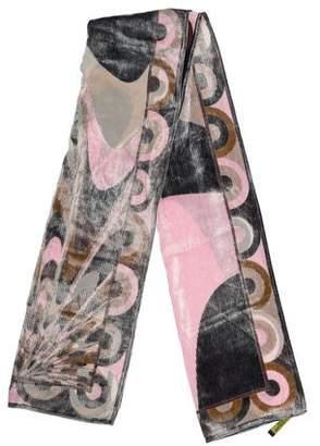 Emilio Pucci Velvet Printed Scarf