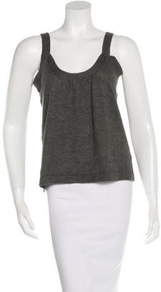 Vera Wang Sleeveless Cashmere Sweater $65 thestylecure.com