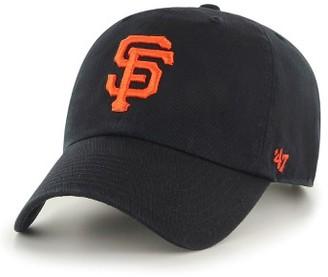 Women's '47 Clean Up San Francisco Giants Baseball Cap - Black $25 thestylecure.com
