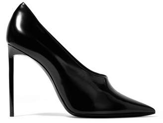 Saint Laurent Teddy Patent-leather Pumps - Black