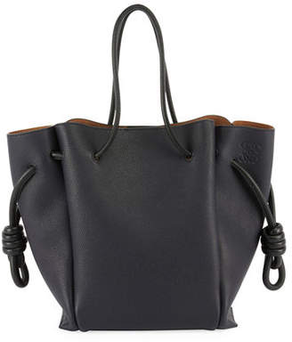 Loewe Flamenco Knot Two-Tone Tote Bag