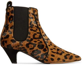 Tabitha Simmons Effie Leopard-print Calf Hair Ankle Boots - Leopard print