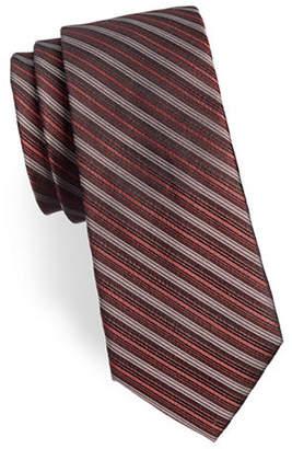 Calvin Klein Striped Silk Tie