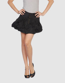 MARITHE' F. GIRBAUD Mini skirt
