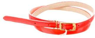Stella McCartney Neon Vegan Patent Leather Belt