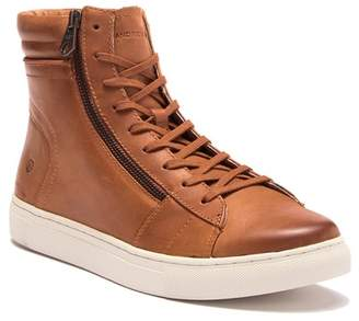 Andrew Marc Remsen Leather High Top Sneaker