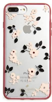 Kate Spade jeweled camellia iPhone 7/8 & 7/8 Plus case