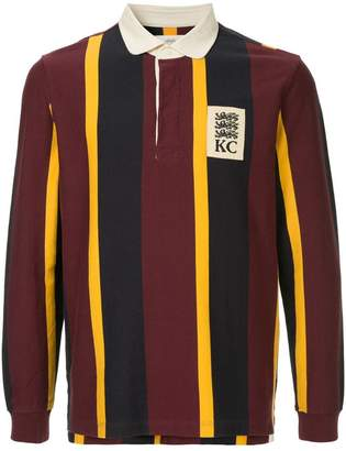 Kent & Curwen long-sleeved logo polo shirt