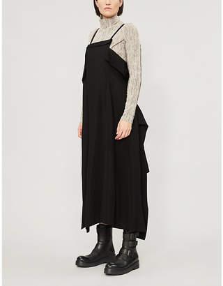 Y's Ys Asymmetric-hem woven dress