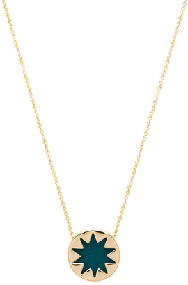 House of Harlow Mini Starburst Pendant Necklace $48 thestylecure.com