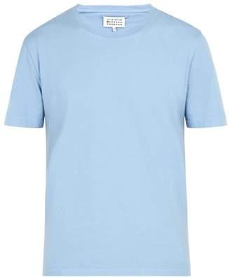 Maison Margiela Cotton T Shirt - Mens - Light Blue
