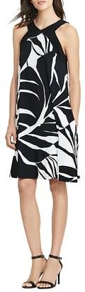 Lauren Ralph Lauren Tropical-Print Dress $130 thestylecure.com