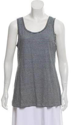 Eileen Fisher Sleeveless Striped T-Shirt w/ Tags