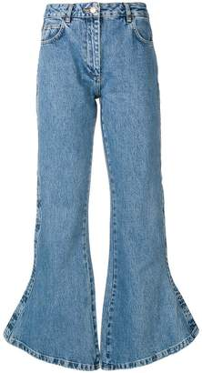 Aalto flared cropped jeans