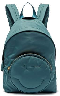 Anya Hindmarch Chubby Wink Backpack - Womens - Dark Green