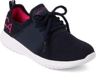 Nautica Kids Girls) Navy Kappil Jogger Sneakers