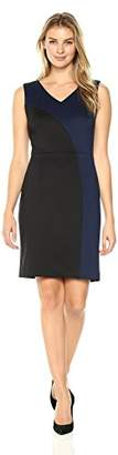 Ellen Tracy Women's Scuba Dress