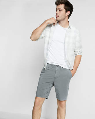 Express Slim Fit 9 Inch 4 Way Stretch Shorts