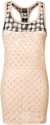Jean Paul Gaultier Pre-Owned polka dot patterned sleeveless top