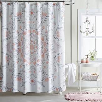 Lauren Conrad Carina Medallion Shower Curtain