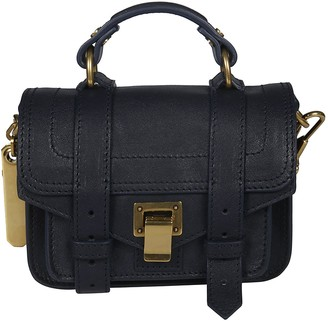 Proenza Schouler Micro Envelope Style Buckle Strap Tote