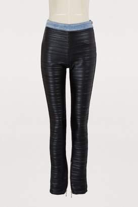 Balmain Pleated leggings