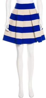 DELPOZO Pleated Mini Skirt