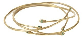 Thin Serpent Bangles