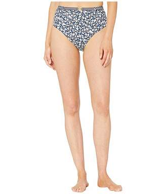 Lauren Ralph Lauren Ditzy High-Waist Belted Pant Bottoms